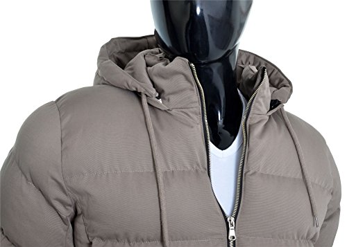 Fashion Winter Jacket Men's D Padded Long Warm Hooded Cotton Casual Work Lined Grey Parka Coat amp;R R5qnxqzH