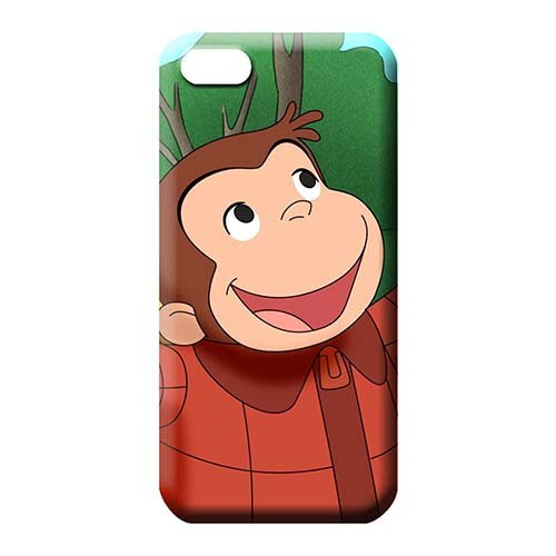 Slim Hot Style Curious George Cell Phone Carrying Cases CasesCovers For Phone iPhone -
