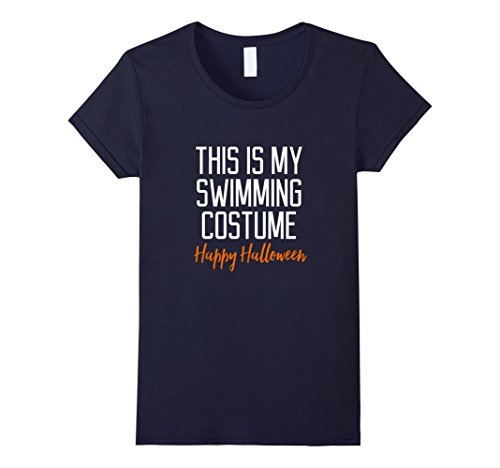 Swimming Costume For Ladies Amazon (Womens Funny Swimming Costume Quote Halloween T-Shirt Large Navy)