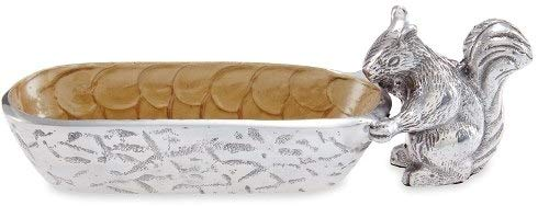 Julia Knight Squirrel Cracker 975quot Tray One Size Toffee Brown
