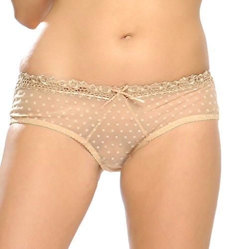 Curvy Kate Womens Princess short Panty, Nude, Large/14