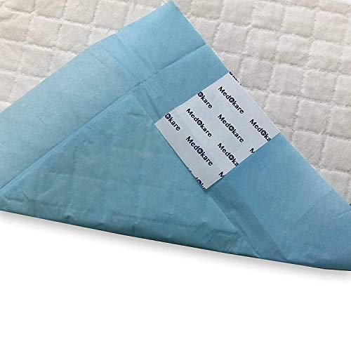 Medokare Disposable Incontinence Bed Pads Hospital Grade