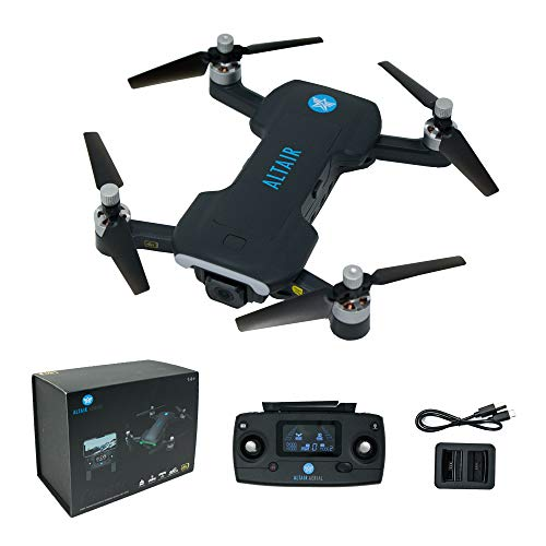 Altair Aerial Dagger Foldable GPS Drone with 4K UHD Camera for Adults, 5G Compatible, Brushless Motors, Optical Flow…