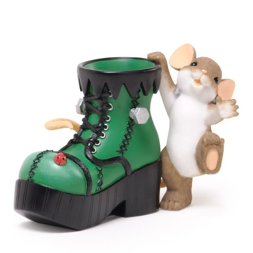 Charming Tails Halloween (ENESCO Charming Tails Halloween That's One Monster of a Step Figurine,)