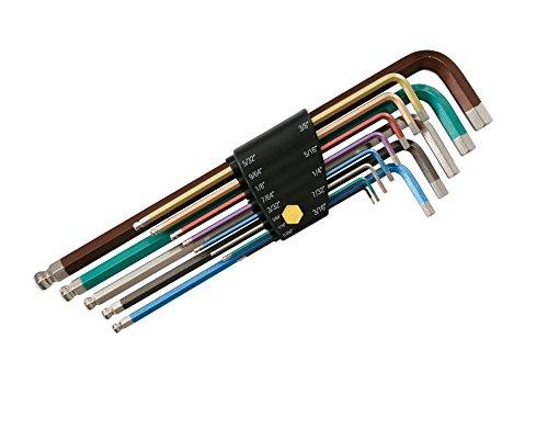 Wiha 36986 Color Coded Hex Key Set