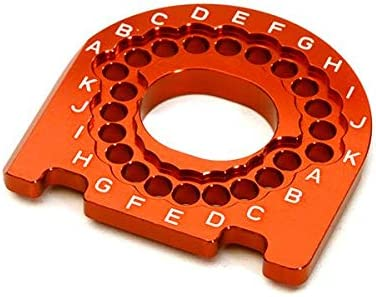 INTEGY RC C28178RED Billet Machined Motor Mounting Plate for Traxxas 4-Tec 2.0