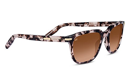 Serengeti 8474 Mattia Gradient Drivers Sunglasses, Pink Tortoise Frame by Serengeti (Image #1)