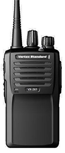 Vertex Standard Original VX-261-G7-5 UHF 450-512 MHz Handheld Two-way Transceiver 5 Watts, 16 Channels - 3 Year Warranty (Vertex Standard Transceiver)