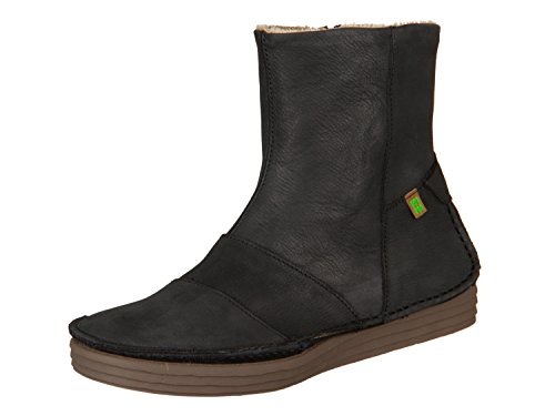 El Naturalista N5043 Pleasant Black/Rice Field, Stivaletti Donna, Nero (Black), 40 EU