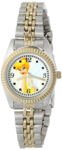Disney Tinker Bell Women's TNK451 Two Tone Classic Bracelet Watch ()
