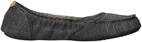 Women's Elle Eight V Flat Black Sanuk 0w71q1