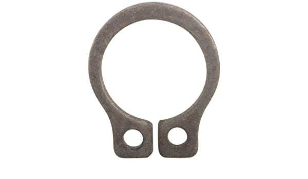 1 1//4 Retaining Rings Inch Black Phosphate Coated Size
