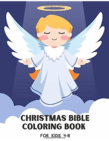 Christmas Bible Coloring Book For Kids 4-8: Gift For Children Colouring  Pages For Boys And Girls With Biblical Quotes And Christian Scenes:  Markwood, Vivienne: 9798699129065: Amazon.com: Books
