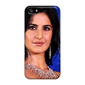 Rugged Skin Cases Covers For Iphone 5/5s- Eco-friendly Packaging(indian Actress Katrina Kaif)