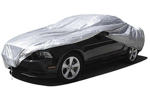 OxGord Solar-Tech Reflective Car Cover - 100% Sun-Proof - Best Reflective Method - Ready-Fit / Semi Custom - Fits up to 168 Inches