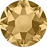 2000, 2038 & 2078 Swarovski Flatback Crystals Hotfix Light Colorado Topaz | SS16 (3.9mm) - Pack of 1440 (Wholesale) | Small & Wholesale Packs | Free Delivery