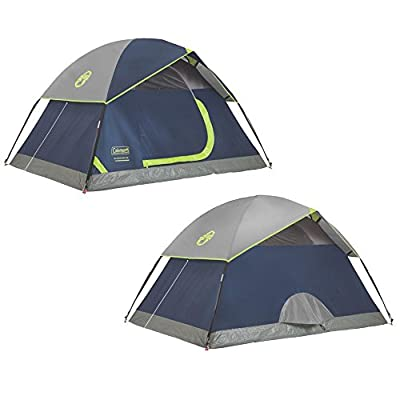 Coleman 2-Person Dome Tent for Camping | Sundome Tent with Easy Setup