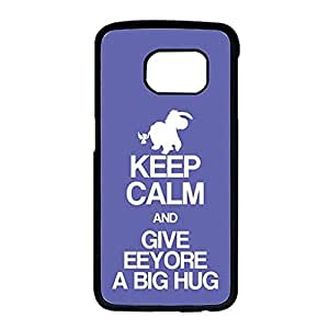 Case For Samsung Galaxy S6 Edge Cute Winnie The Pooh Eeyore Customized Cell Phone Case