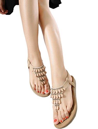 MatchLife sandalias Style4 zapatos y mujer Apricot UpHUrqw