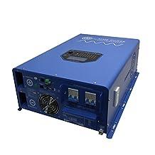 AIMS Power PICOGLF10KW48V240VS 10000W Pure Sine Inverter Charger 48 volt to 120/240 volt