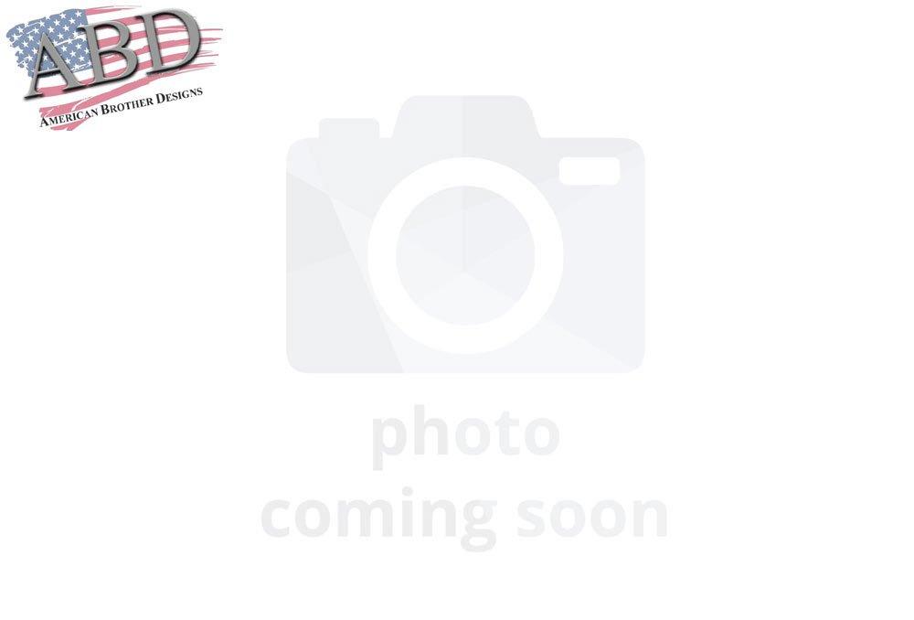 American Brother Designs ABD-3202PHGSRT Door Sill, Set of 2 Matched Color-Plum Crazy-Paint Code PHG, Challenger SRT Logo