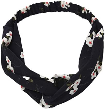 Floral Turkish White Scarf Neck Knot Wrap Head Band