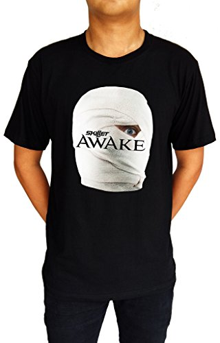 Skillet Awake and Alive Alternative Rock Band Men's T-Shirt Medium (Alternative Band T-shirts)