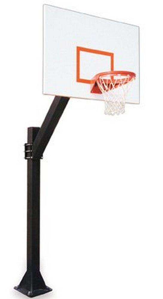 最初チームLegend impervia-bp steel-aluminum in ground固定高さバスケットボールsystem44 ;オレンジ B01HC0CGIY