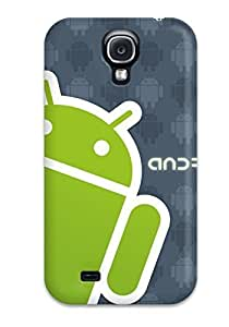 New Technology Logos PC Skin Case Compatible With Galaxy S4