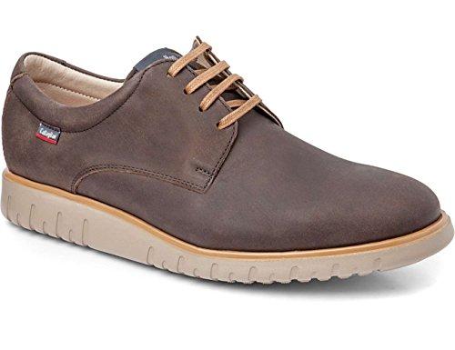 Callaghan 10500, Zapatos de Cordones Derby para Hombre Marron