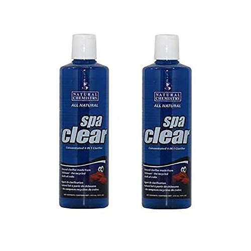 (Natural Chemistry Spa Clear Concentrated 4-in-1 Clarifier, 32 Ounces (2 Pack))