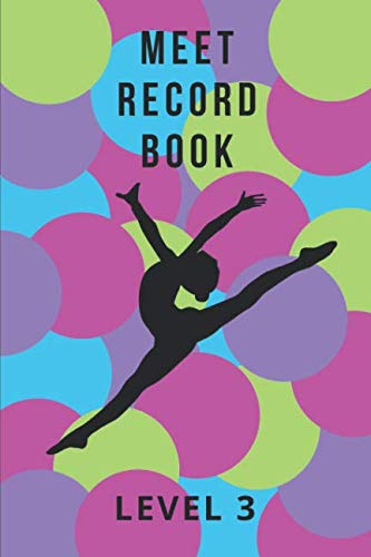 Meet Record Book: Level 3 in Colorful Dots ()