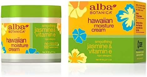 Alba Botanica Smoothing Jasmine & Vitamin E Hawaiian Moisture Cream, 3 oz.