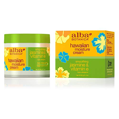 Alba Botanica Smoothing Jasmine & Vitamin E Hawaiian Moisture Cream, 3 oz.