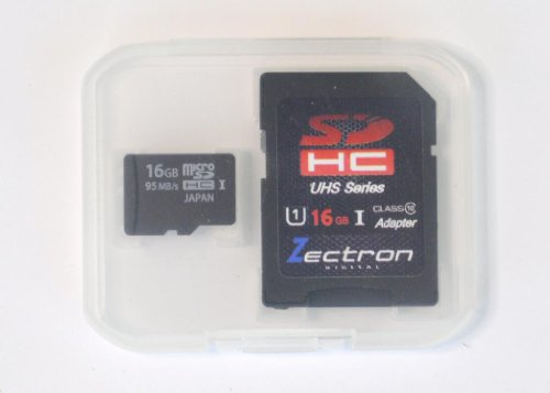 Zectron 16GB Micro SDHC-UHS-1 Memory Card for Nokia T7-00