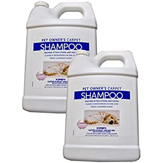 2 Gallons Genuine Kirby Pet Owners Shampoo. Use with all model Kirby Vacuum Cleaner Shampooer Systems.