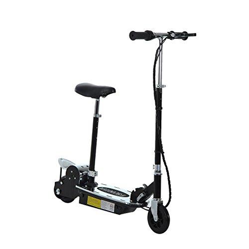 HOMCOM 120W Teens Foldable E-Scooter Kids Electric...