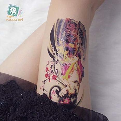 HXMAN 3 Unids Nuevo Tatuaje Temporal Pegatina Fantasía Color ...