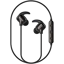 iClever Bluetooth Headphones, Wireless Earbuds Stereo Music, 10 Hours Playtime, CVC 6.0 Noise Cancelling, Waterproof Sports Headphones iPhone 8