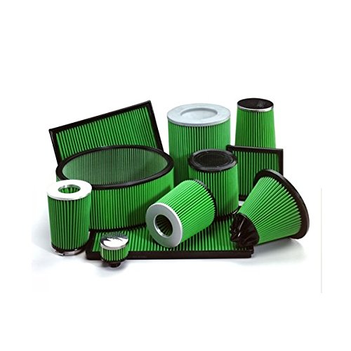 Green Cotton Panel Car Air Filter Replacement Performance P646531