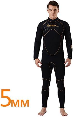 PAWHITS Combinaison Plong/ée Homme Manches Longues Combinaison N/éopr/ène 5mm de Surf Snorkeling Natation Kayak Plong/ée Mer Eau