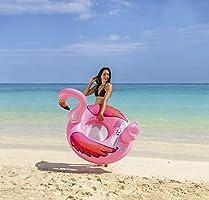 JILONG Flotador (Flamingo Natación Animales sofá Hinchable ...