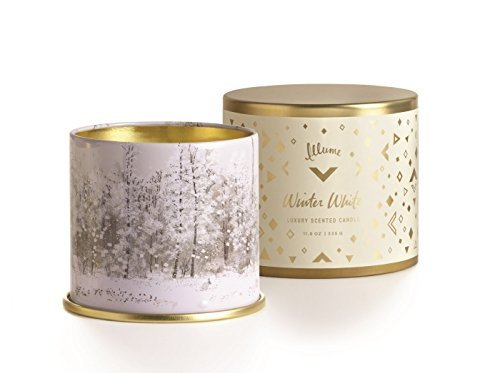 Illume, Candle Tin Large Winter White, 1 Each