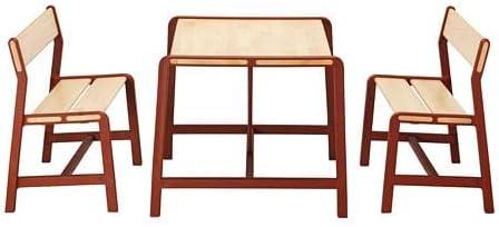 YPPERLIG (イッペルリグ) 子ども用テーブル ベンチ2台付き