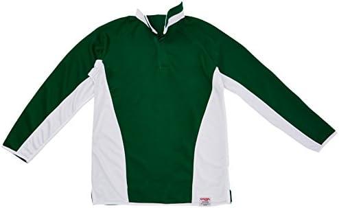 Carta Sport Camiseta de Rugby Camiseta Reversible - Verde/Blanco y Llano Verde Esmeralda - Varias Opciones de tamaño: Amazon.es: Deportes y aire libre