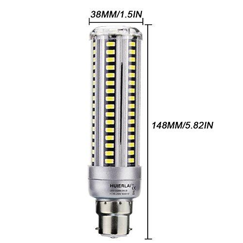 Ampoule Maïs Light 18w 1760 Spot Led Huierlai Lampe Blub B22 2x qpGzVSUM