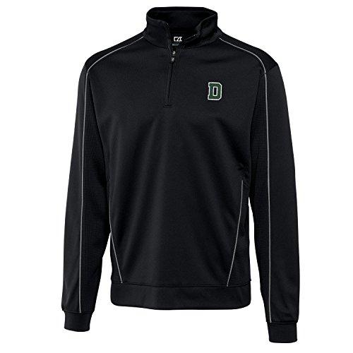 - Cutter & Buck NCAA Dartmouth Big Green Men's Edge Half Zip Tee, Black, XX-Large