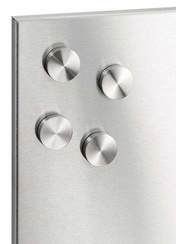 Blomus 66784 Stainless Steel Muro Magnets, Set of 4 (Muro Magnet Board)
