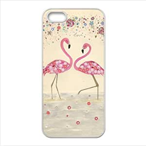 Funny Flamingo Accessories Apple Iphone 5 TPU Cases Covers