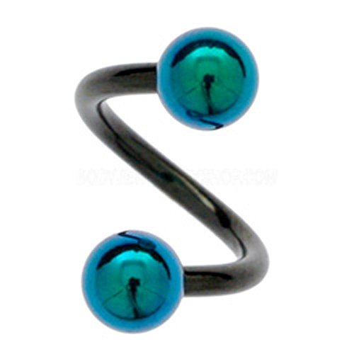 blackline-body-spirals-titanium-balls-green-10mm